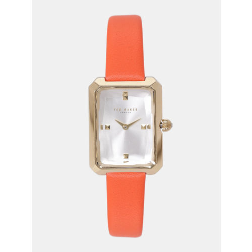 Ted Baker Women Silver-Toned Analogue Watch TE50270002