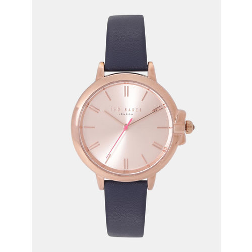 Ted Baker Women Rose Gold-Toned Analogue Watch TE50267004