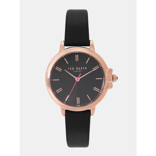 Ted Baker Women Black Analogue Watch TE50267007