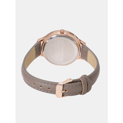 DressBerry Women Rose Gold-Toned Analogue Watch MFB-PN-SNT-G01
