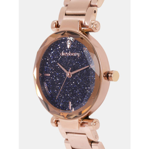 DressBerry Women Navy Blue Analogue Watch MFB-PN-LB-M1211M