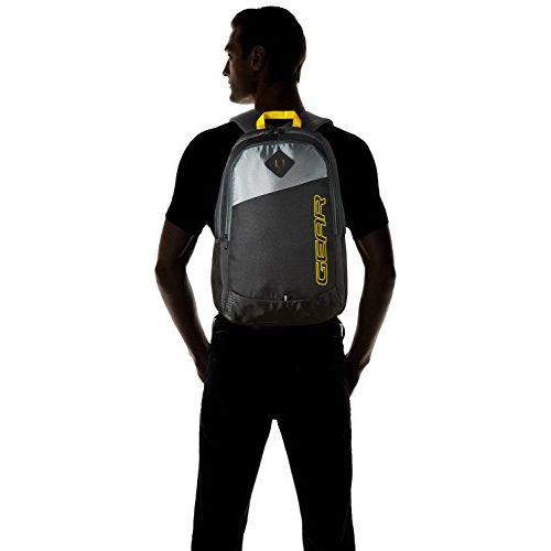 Gear 21 Ltrs Black Casual Backpack (MDBKPECO50104)