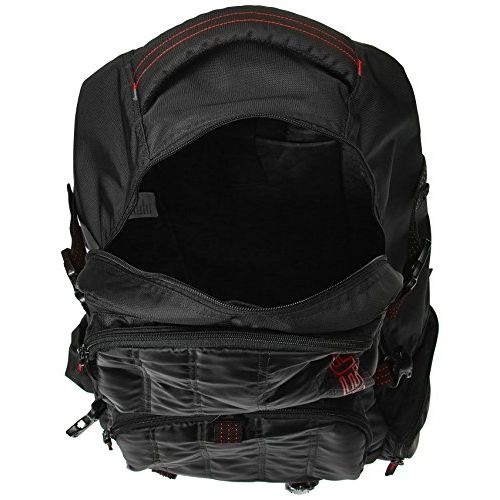 GEAR Black and Red Eco Rucksack (RKSECO0000109)
