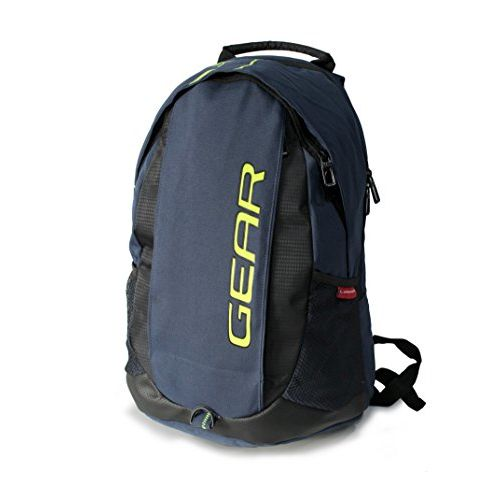 Gear Outlander 8 33 Ltrs Navy Blue and Green Casual Backpack (BKPOUTLR80503)