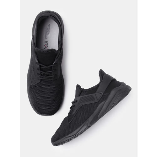 HRX by Hrithik Roshan Men Black Sneakers
