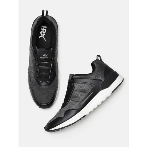 HRX by Hrithik Roshan Men Black Sneakers