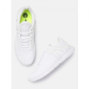 newest 64b8b dfdbb HRX by Hrithik Roshan Men White Running Shoes
