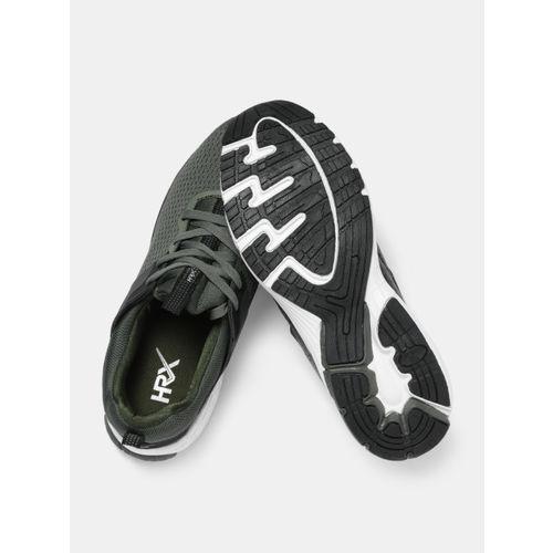 HRX by Hrithik Roshan Men Olive Green Dash Series Running Shoes