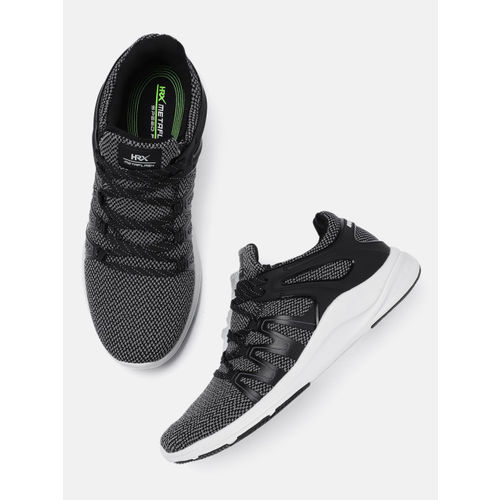 HRX by Hrithik Roshan Men Black Meta Flash Running Shoes