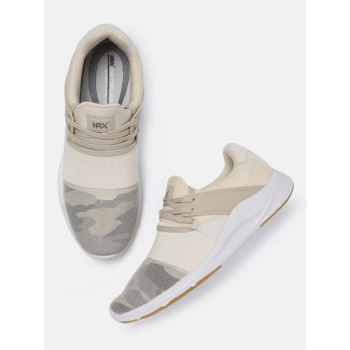 HRX by Hrithik Roshan Men Beige Meta Flash Running Shoes