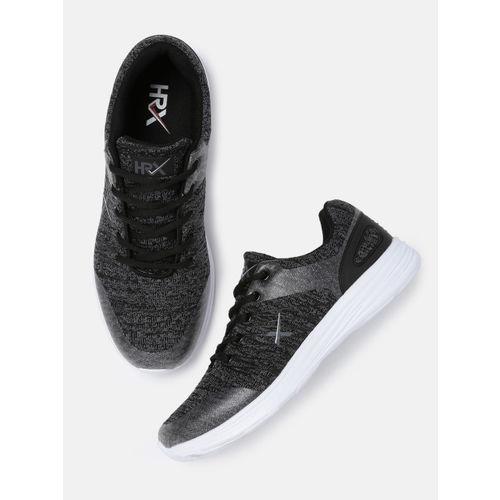 HRX by Hrithik Roshan Men Black Running Shoes