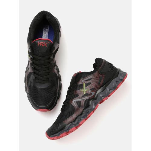 HRX by Hrithik Roshan Men Core 1.0 Running Black Shoes