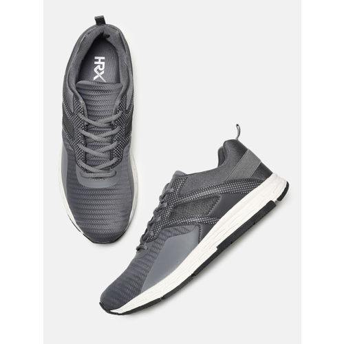 HRX by Hrithik Roshan Men Charcoal Grey Impact Series Running Shoes