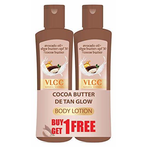 VLCC Cocoa Butter Detan Glow SPF 30 | PA+++, 100 ml (Buy 1 Get 1 Free)