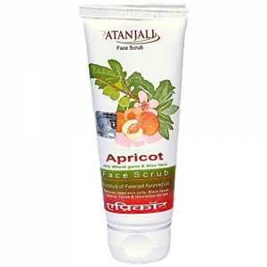 Patanjali Apricot Face Scrub, 60g (Pack of 2)