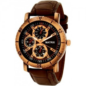 Matrix Black Dial Men's Watch-WCH-123