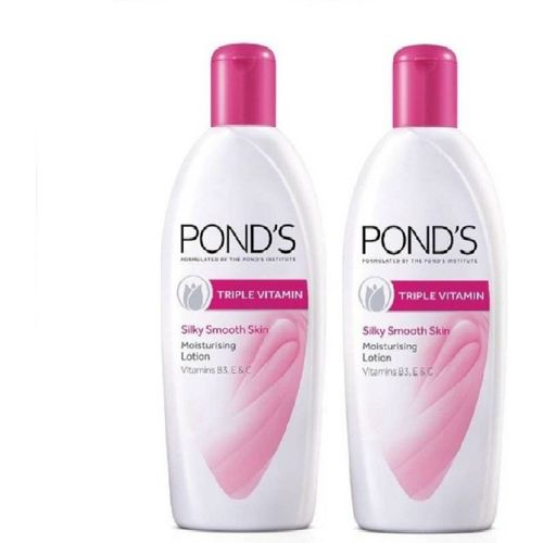 Ponds body lotion triple action 300ML X 2(300 ml)