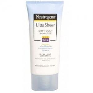 Neutrogena Ultrasheer Dry Touch Sunblock Lotion Spf 50(118 ml)