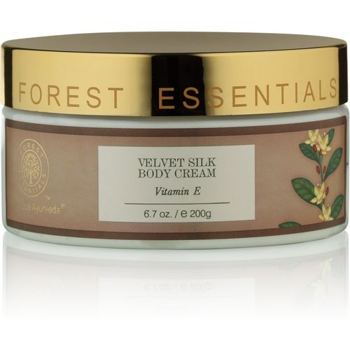 Forest Essentials Velvet Silk Body Cream Vitamin E(200 g)