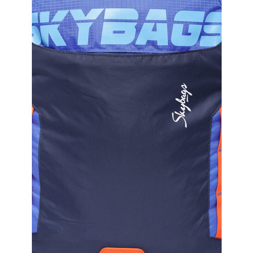 Skybags Figo Extra 02 36 Ltrs Blue Casual Backpack