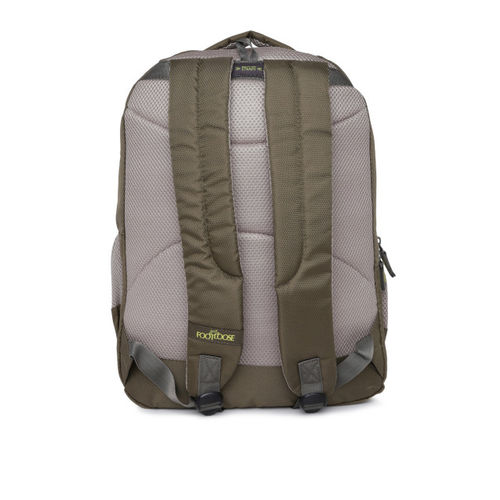 Skybags Unisex Olive Green Typography Backpack