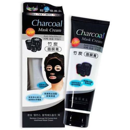 Shopimoz Charcoal Black Peel Off Mask For Blackhead Removal From Nose & Acne Treatment(Pack Of 1)(130 g)