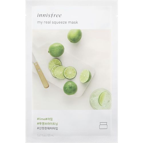 Innisfree My Real Squeeze Mask - Lime(sheet mask)(20 ml)