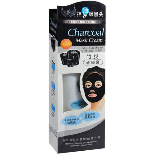 Charcoal ORIGINAL MASK CREAM FOR DAILY POLLUTION FREE SKIN, BLACK HEAD REMOVE, DEEP CLEANSING (130 g)(130 g)