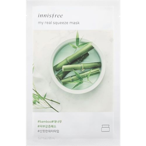 Innisfree My Real Squeeze Mask - Bamboo(sheet mask)(20 ml)