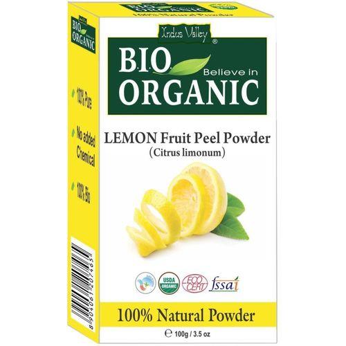 Indus Valley Organic Face Cleanser Lemon Fruit Peel Powder(100 g)