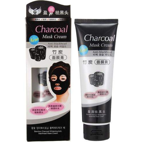 Mesmerize CHARCOAL MASK CREAM FOR DAILY POLLUTION FREE SKIN, BLACK HEAD REMOVE, DEEP CLEANSING, OIL CONTROL (130 g) (130 g)(130 ml)