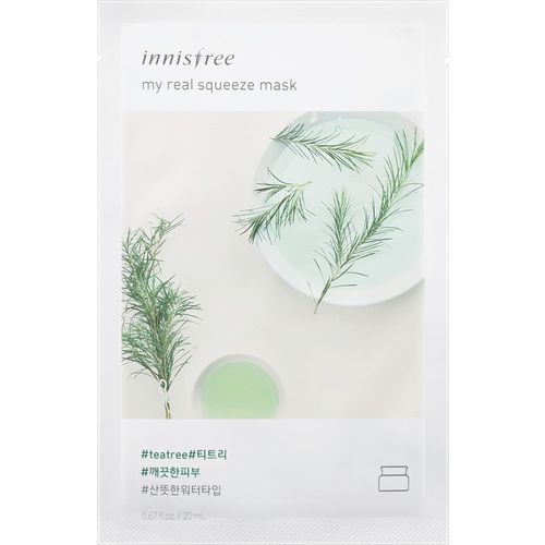Innisfree My Real Squeeze Mask - Tea Tree(sheet mask)(20 ml)
