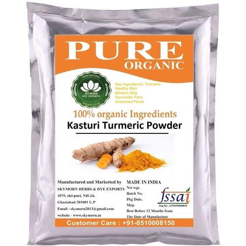 SkyMorn Premium Quality Kasturi Turmeric Powder For Glowing Face Pack 2x100(200 g)