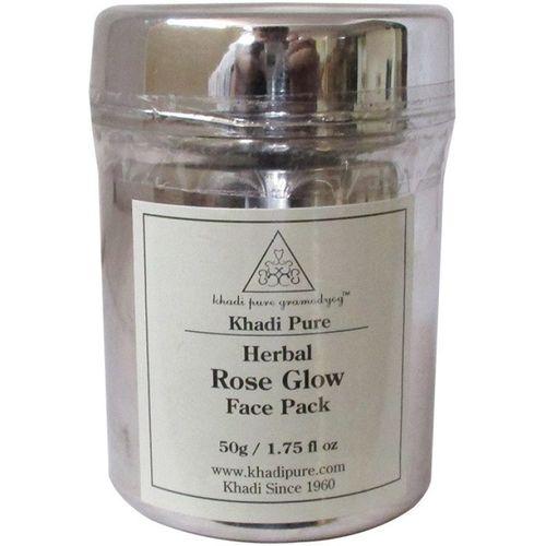 Khadi Pure Herbal Rose Glow Face Pack(50 g)
