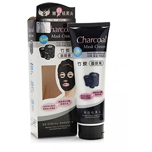 hope smile Charcoal Charcoal Carbon Peel Off Diy Purifying Black Mask For Blackhead Whitehead Pores Face Nose For Unisex(130 g)