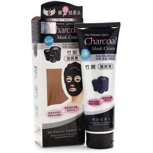 Phezo Charcoal Mask Cream HIGH QUALITY ANTI-BLACKHEAD OIL-CONTROL BAMBOO CHARCOAL MASK CREAM FOR ALL SKIN TONE (130 ml)(130 g)