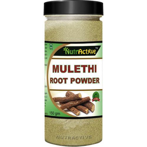 NutrActive Organic Mulethi (Licorice Yastimadhu) Powder 150 gm(150 g)
