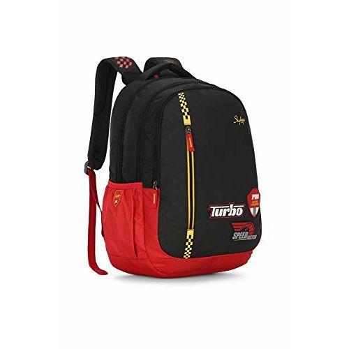 Skybags Figo Extra 01 36 Ltrs Black Casual Backpack (FIGO Extra 01)