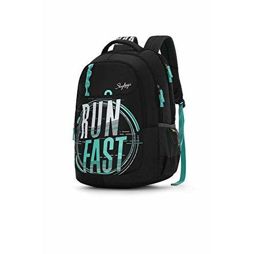 Skybags Figo 01 32 Ltrs Black Casual Backpack (FIGO 01)