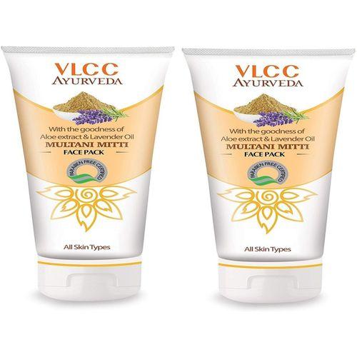 VLCC Multani Mitti Face pack 100gm (pack of 2)(200 g)