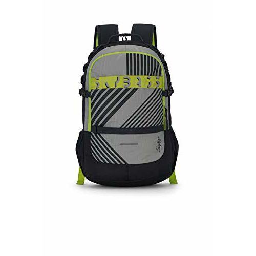 Skybags Herios Plus 02 33 Ltrs Grey Laptop Backpack (HERIOS Plus 02)