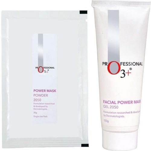 O3+ Facial Power Mask Gel and Powder 2050 with Activated Charcoal(150 g)