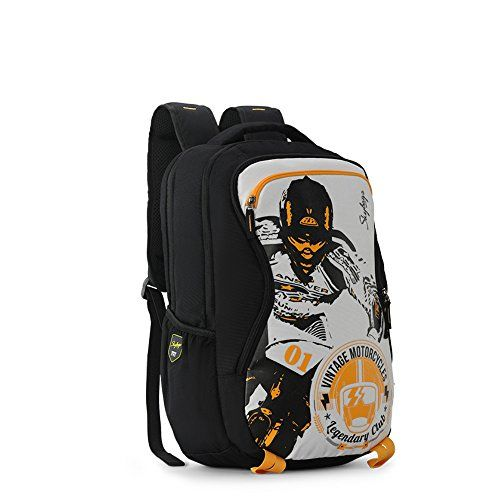 Skybags Xcide Plus 49 Ltrs White Casual Backpack (SBXCP02WHT)