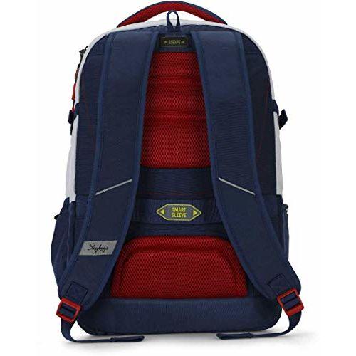 Skybags Aztek Pro 02 30 Ltrs White Laptop Backpack (Aztek PRO 02)