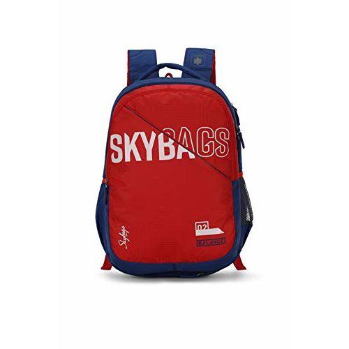 Skybags Figo Extra 03 36 Ltrs Red Casual Backpack (FIGO Extra 03)