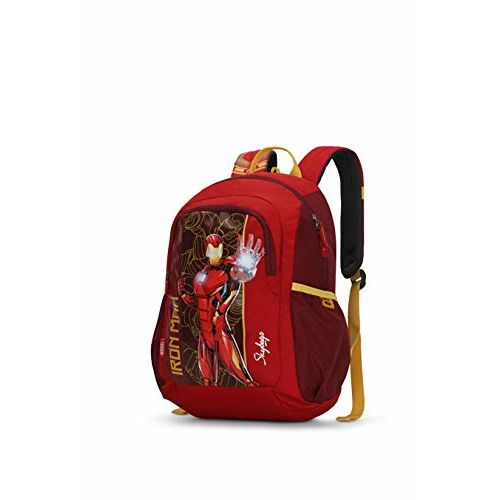 Skybags Marvel Champ 09 18 Ltrs Red Casual Backpack (Marvel Champ 09)