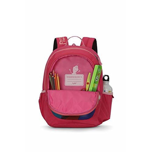 Skybags Frozen Champ 05 18 Ltrs Pink Casual Backpack (Frozen Champ 05)