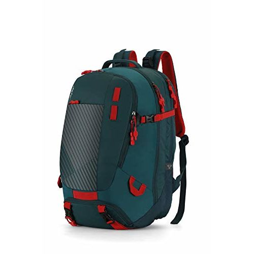 Skybags Aqua 35 Ltrs Teal Laptop Backpack (Aqua)