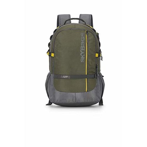 Skybags Herios Plus 03 33 Ltrs Olive Laptop Backpack (HERIOS Plus 03)