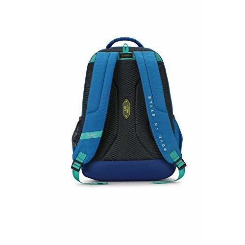 Skybags Figo Plus 02 34 Ltrs Gradient Blue Casual Backpack (FIGO Plus 02)